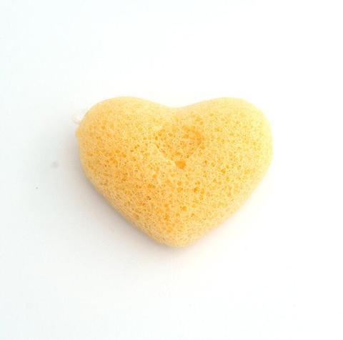 algodao puro natural konjac esponja limpeza de