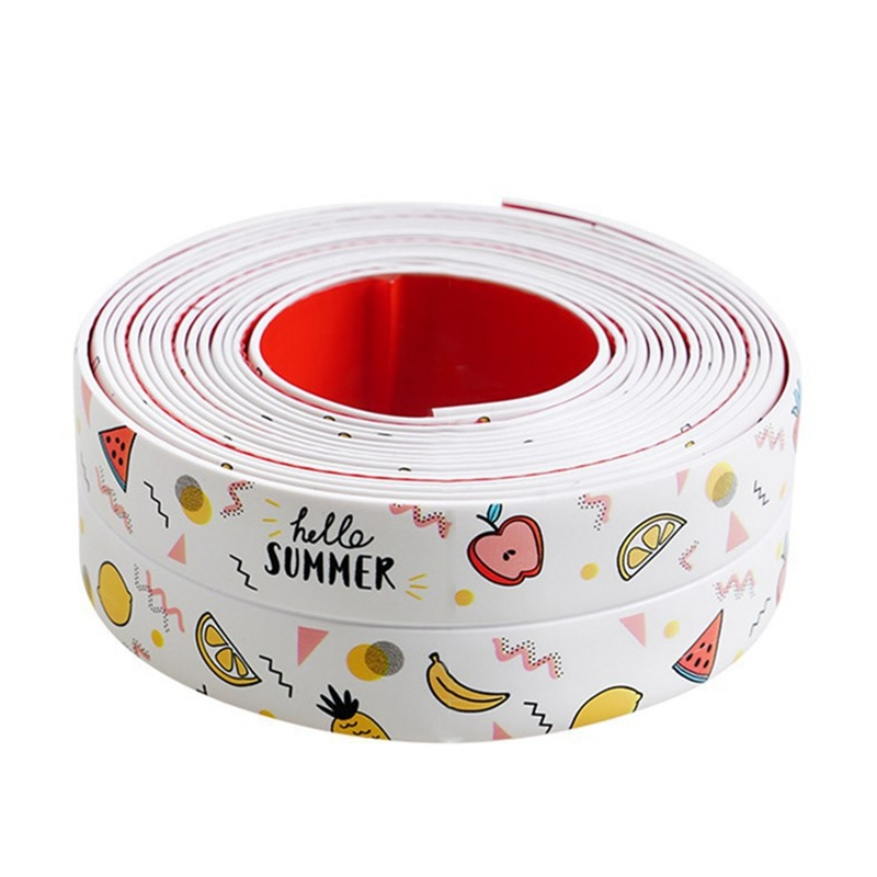 Waterproof Tape Resistant Tape Self-Adhesive Sealant Sealant Tape Suitable for Edge Protection of Bathtub Kitchen Sink Bathroom
