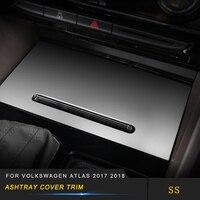 Pour Volkswagen VW Atlas 2017-2019 voiture cendrier boîte de rangement housse garniture cadre autocollant accessoires intérieurs