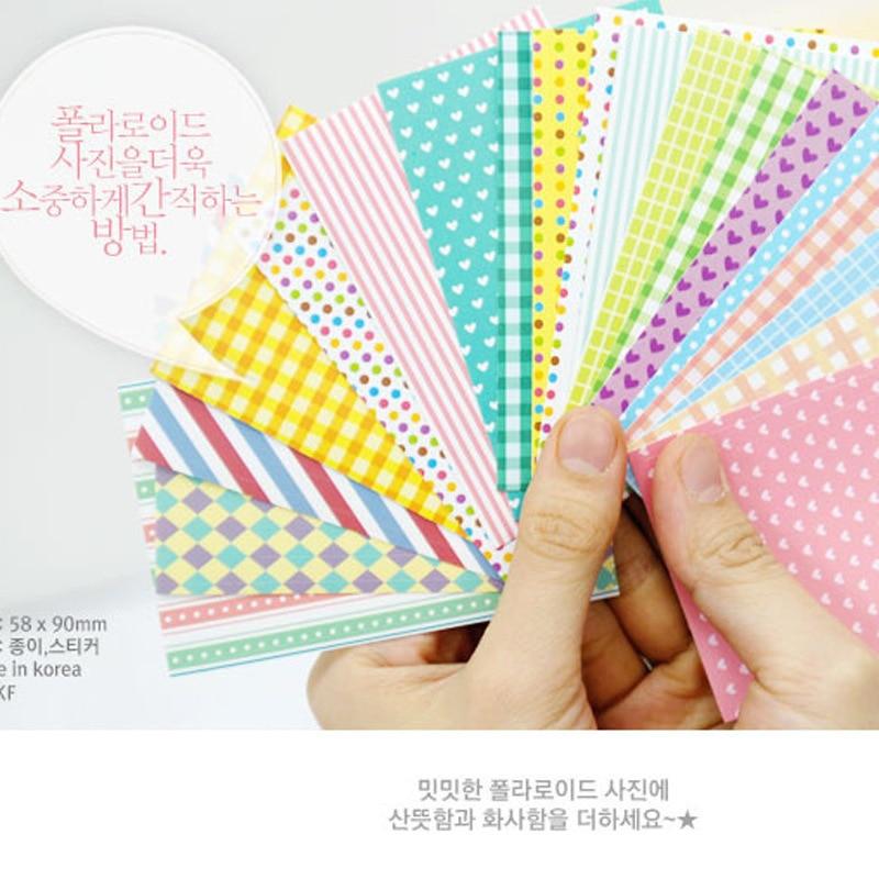 Creative DIY Films Photo Stickers For FujiFilm Instax Mini Instant 8 7S 25 50S 90 9