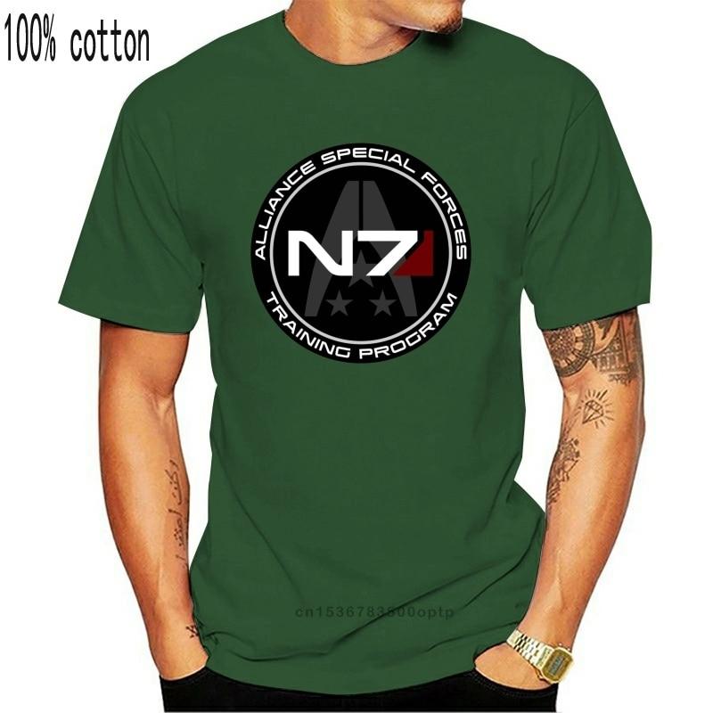 Cheap Pricing Men Mass Effect N7 Cadet T Shirt Tees Shirt Short Sleeve Custom Designer T Shirt Teenagers Big Tall Size Tee