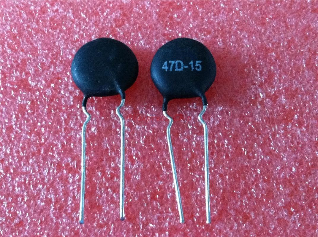 10pcs/lot 47D-15 NTC47D-15 DIP 47D15 In Stock