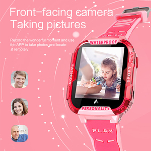 Image 2 - K22 4G لتحديد المواقع ساعة ذكية للأطفال IP68 مقاوم للماء واي فاي مكالمة فيديو كاميرا بمنبه الطفل الاطفال ساعة ذكية الهاتف الأطفال Smartwatch