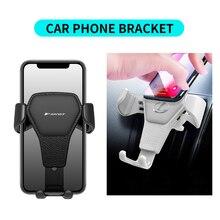 Портативный автомобильный держатель для телефона, кронштейн для крепления на вентиляционное отверстие, подставка для мобильного телефона ...