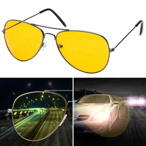 Image 5 - 1.56 Driver occhiali gialli LensPhotochromic Anti luce blu miopia astigmatismo prescrizione ottica lente in resina visione notturna