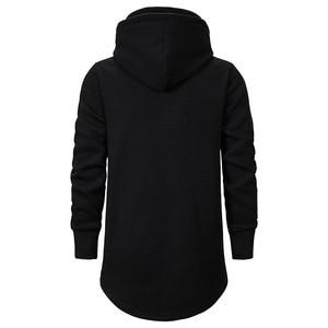 Image 4 - Assassins Creed Männer Diablo Nahen Lange Hut Lose Mantel Doppel Kordelzug Tasche Hoodie Männer Sweatshirts Männer Off White