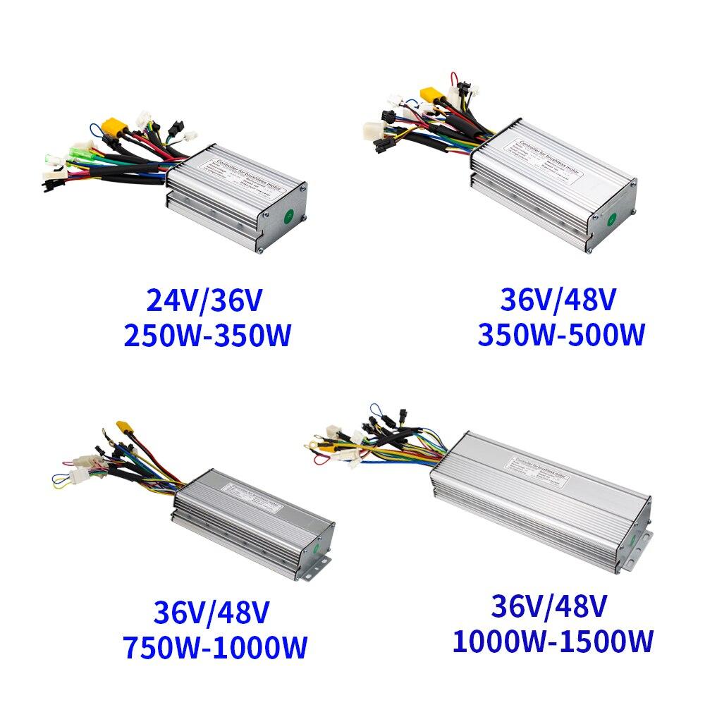 電動自転車コントローラ24v 36v 48v 250ワット350ワット500ワット750ワット1000ワット1500ワットブラシレス6 9 12 18 mosfet ktコントローラ電動自転車accessorice