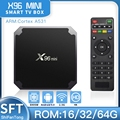 X96 Мини Android 9,0 смарт-приставка для ТВ 1 ГБ/2 ГБ, 8 ГБ/16 ГБ Smart tv медиаплеера Поддержка H.265, 4K 30pfs smart tv box vs h96 x96