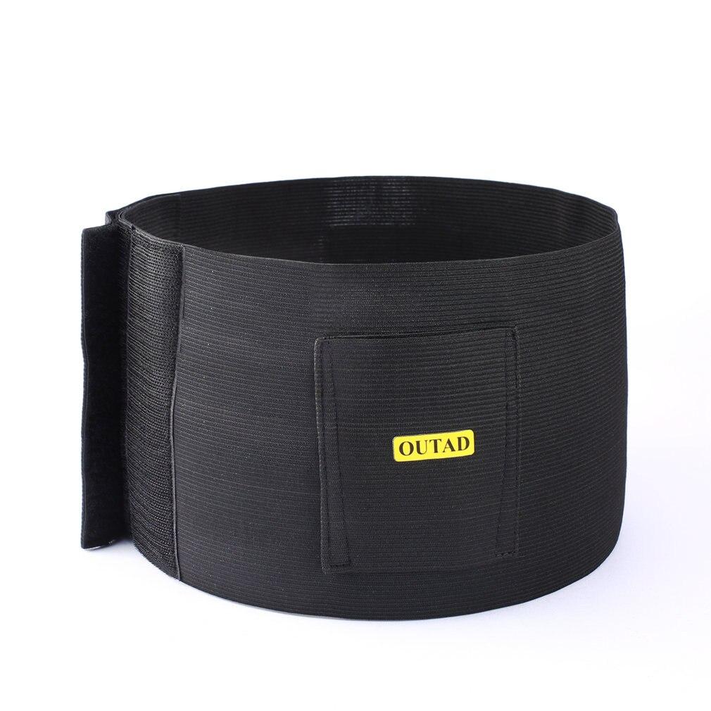 OUTAD Adjustable Tactical Elastic Concealment Belly Band Abdominal Belt Waist Pistol Handgun Gun Holster With Dual Pouches