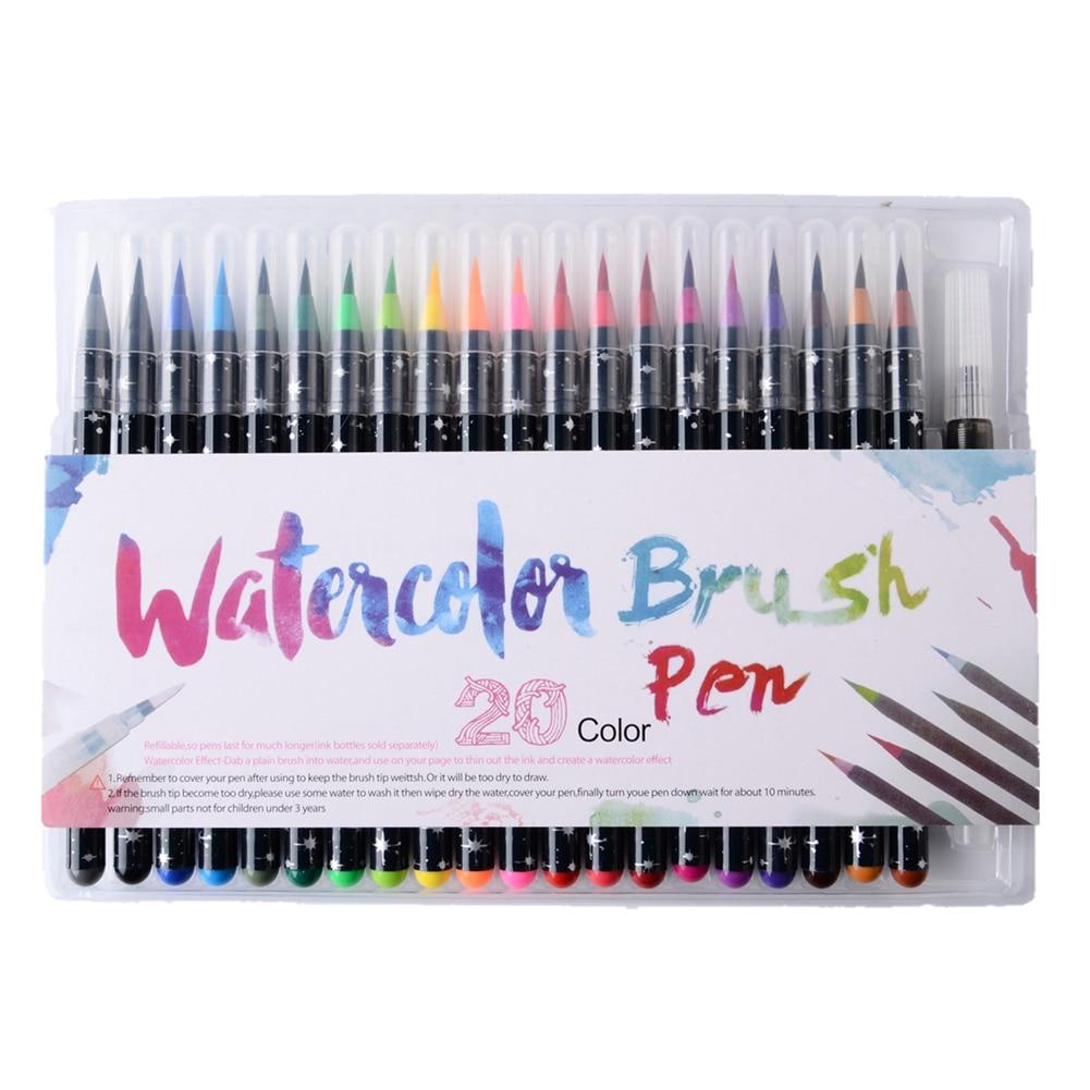 Escova Escrita Cor Desenho Pintura Mistura-capaz de