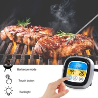 Wireless BBQ Thermometer With Six Probes Food Cooking Timer Oven Meat Grill Thermometer With Free App Control Temperature Meter