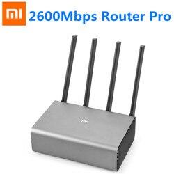 Original Xiaomi Mi R3P 2600Mbps Router inalámbrico inteligente Pro 4 Antena de doble banda 2,4 GHz/5,0 GHz WiFi dispositivo de red