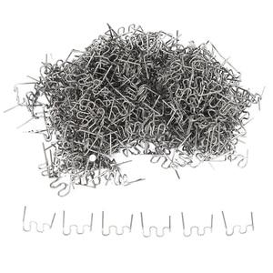 1000 шт скобы для горячего степлера Пластик ремонт волны скобы бампер кузов ремонт 0,8 мм/сек волны скобы