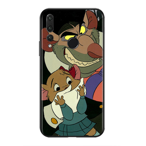 Image 2 - Silicone Cover Great Mouse Detective For Honor V30 30i 10X 30S 9A 9S 9X 30 9C 20 S V20 10i 10 7C Pro Lite Phone Case