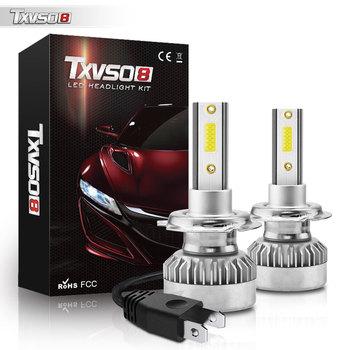 TXVSO8 6000K H7 linterna del coche de 20000LM 110W H4 Led H1...