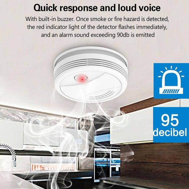 Detector de humo WIFI 5