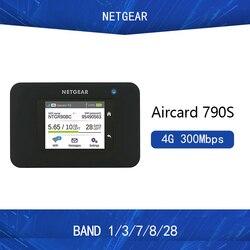 Новый разблокированный Netgear Aircard 790s (AC790S) 300 Мбит/с Cat 6 4G Мобильная точка доступа Wi-Fi роутер портативный Wi-Fi Rout PK E5786