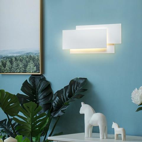 moderno 18 w aluminio conduziu lampada