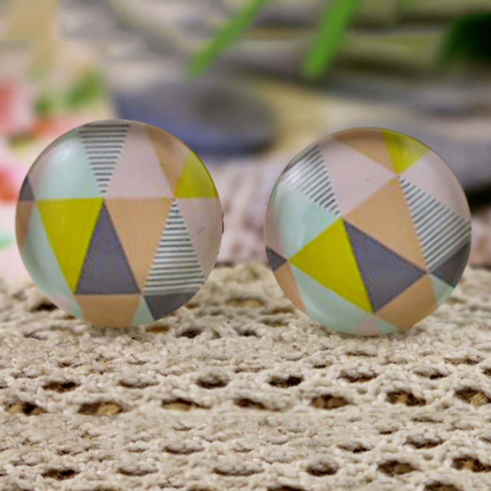 2018 Hot Sale 10pcs 20mm Handmade Photo Glass Cabochons  (H4-42)