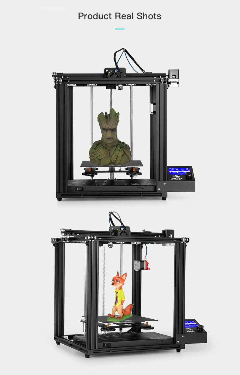Ender-5 Pro 3D Printer of Full Metal Frame With Brand For Education Use