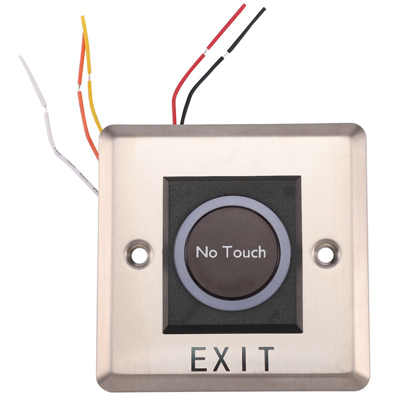 Infrared Sensor Switch No Contact Contactless Switches Door Release Exit Button With LED Indication