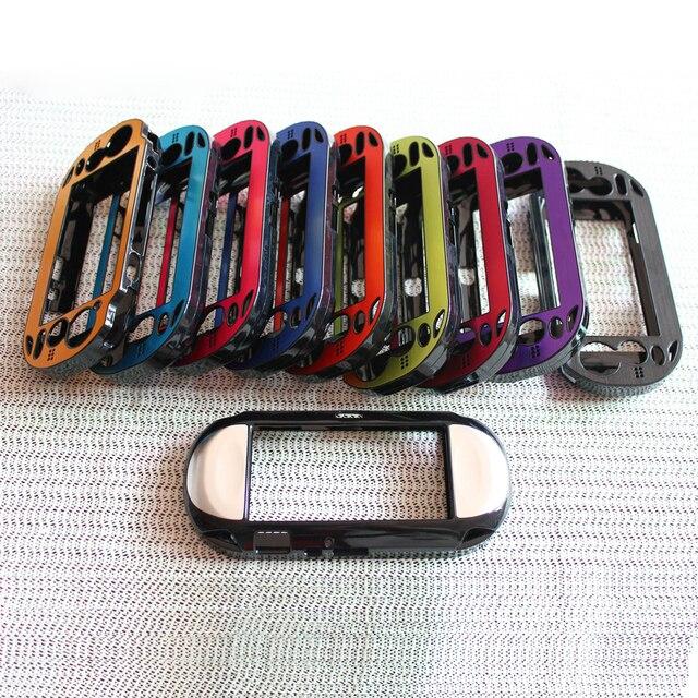 Kunststoff + Aluminium Hard Case Haut schutzhülle für PSV PS Vita 1000