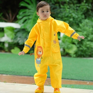 Image 2 - Baby Rompers Boys And Girls Waterproof Jumpsuits kids Clothing Sets 1 9 Years Old Children Romper Waterproof Clothes