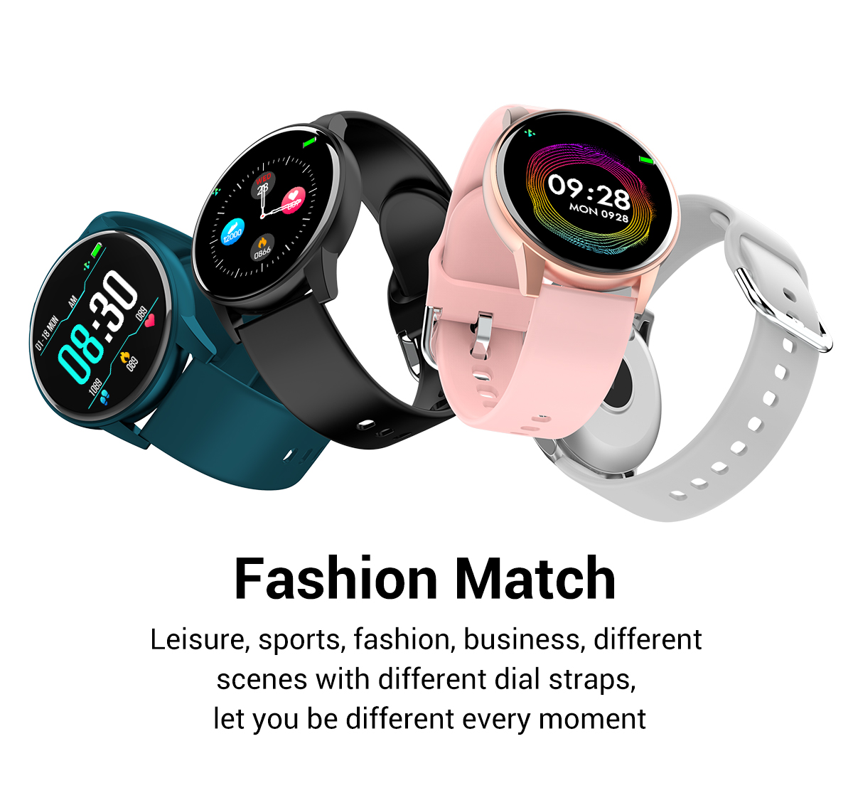 Fashionable smartwatches for men