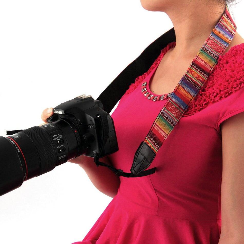 1pcs Vintage Camera Shoulder Neck Strap For Nikon Canon Sony Panasonic SLR DSLR Brand New