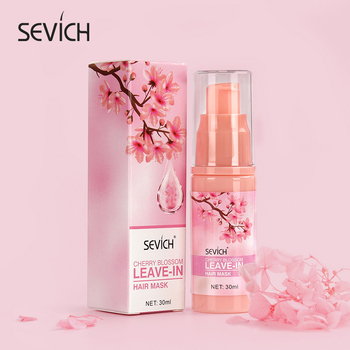 Sevich Cherry Blossom Essence Leave-in Hair Mask For Repair Damage Restore Soft Hair Keratin Hair Treatment Nourishing Hair Mask 1