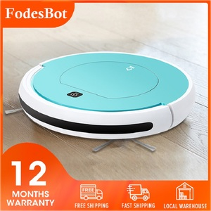 Best Quality Robot Vacuum Cleaner Smart Sweeping Robot Wireless Rechargeable Wet Mopping Run 120mins Mopping Robot Smart Robot(China)