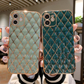 Luxury Cute Gold Bling Plating Silicone Phone Case For iPhone 12 11 Pro XS max XR X 8 7 Plus Ultra-thin Camera Protection Cover