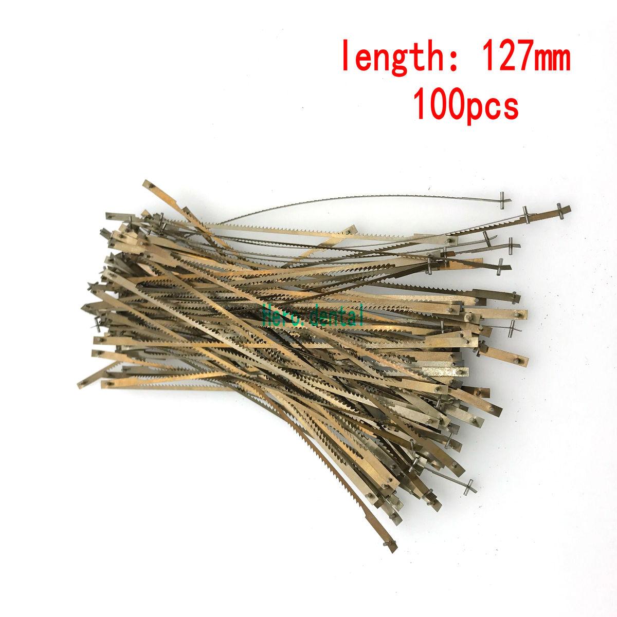 Dental Lab Tools Long Saw Blades 127mm 100Pcs/bag New Sale
