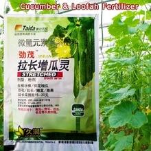 Fertilizer Cucumber Plant Food Growth-Crop Garden Profession for Loofah Momordica Gourd