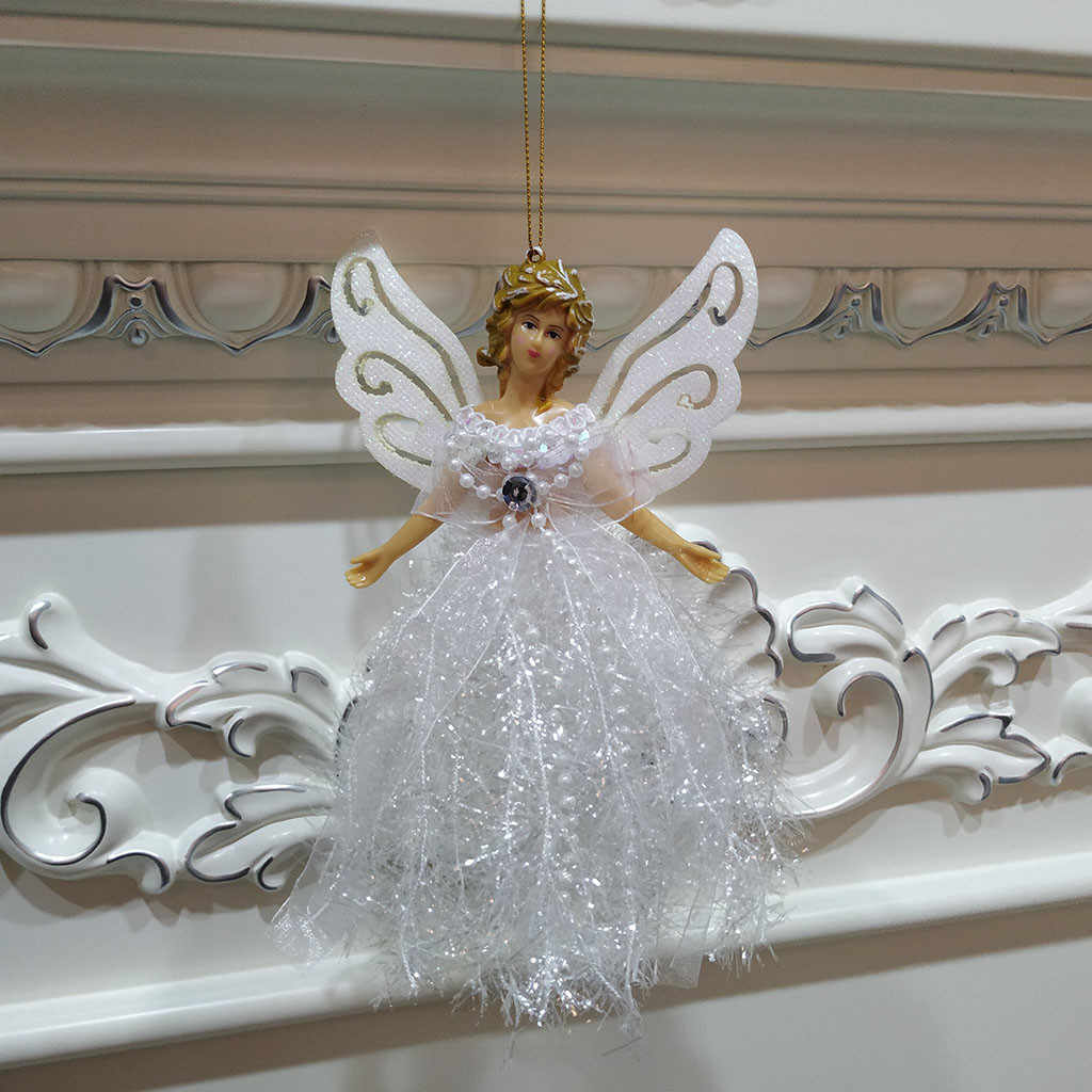 Christmas Angel Doll Ornaments Xmas Tree Pendant Hanging Home Window Decoration~