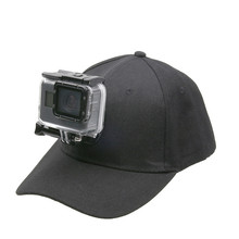 Adjustable Canvas Sun Hat Cap for Gopro Hero 7 6 5 4 SJCAM SJ7000 SJ6000 M20 Eken H9 H9R H8 Pro Yi 4K SOOCOO Sport Action Camera
