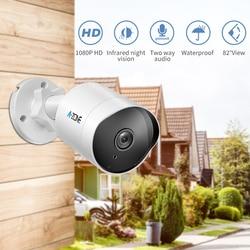 H.264 Security IP Camera 1080P 2.0MP ONVIF Outdoor Waterproof IP66 CCTV Wifi Camera 2.4G HD Surveillance Home Night Vision