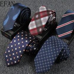 6cm High Quality Silk Skinny 6cm British Style Neck Tie Ties for Men Slim Cravat Neckties Mens Gravatas Vestidos Wedding Ties
