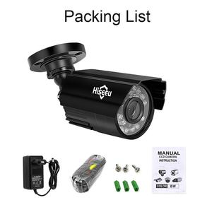 Image 5 - Hiseeu AHD Analog High Definition Video Surveillance Infrared Camera 720P 1080P AHD CCTV Camera Security Outdoor Bullet Cameras