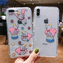 Custodia per cellulare Disney per IPhone11 per IPhone8plus/7/12/6/xr/xs/x/xsmax/protezione dello schermo Cover per cellulare simpatico cartone animato