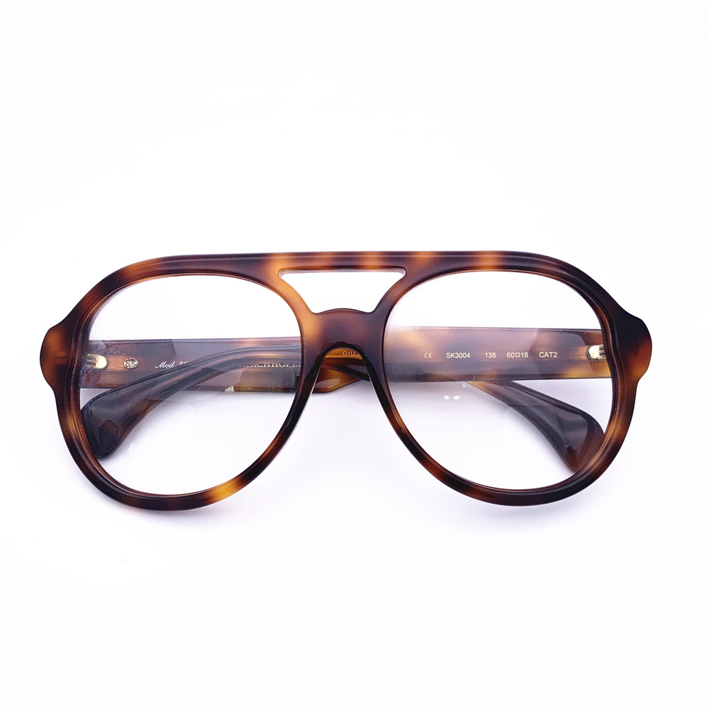 Belight Optical big intricate mottled decors a homage to the iconic Kirchhofer women Brand spectacle frame prescription SK3004