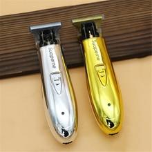 Profesjonalna akumulatorowa maszynka do włosów akumulatorowa elektryczna maszynka do włosów golarka do brody mężczyzn Salon fryzjerski stylizacja włosów maszyna do cięcia