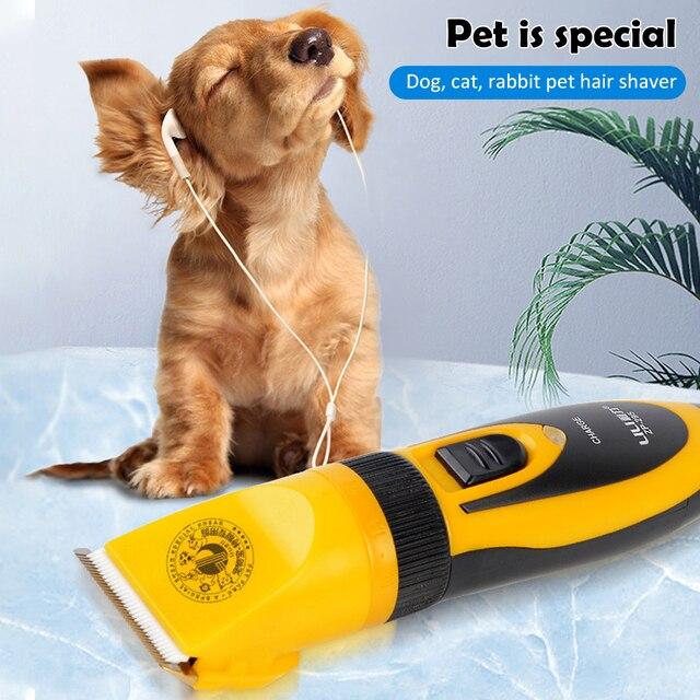 Ciseaux électriques professionnels 110-240V AC   35W, tondeuse pour animaux de compagnie, toilettage, tondeuse, rasoir, Portable
