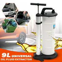 7L/9L Oil Fluid Extractor Pump Manual Vacuum Fuel Suction Car Boat Transfer Tank Extractor Changer Remover