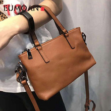 EUMOAN 2020 Hot Sale Popular Fashion Brand Design Genuine Leather Bag Women Messenger Bags Cowhide Shoulder Bag Women Handbags