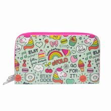 2021 New Fashion Unicorn Pattern Pencil Case With Three Compartments Digital Printing Patterned Stylish Look Sweet Free Shipping