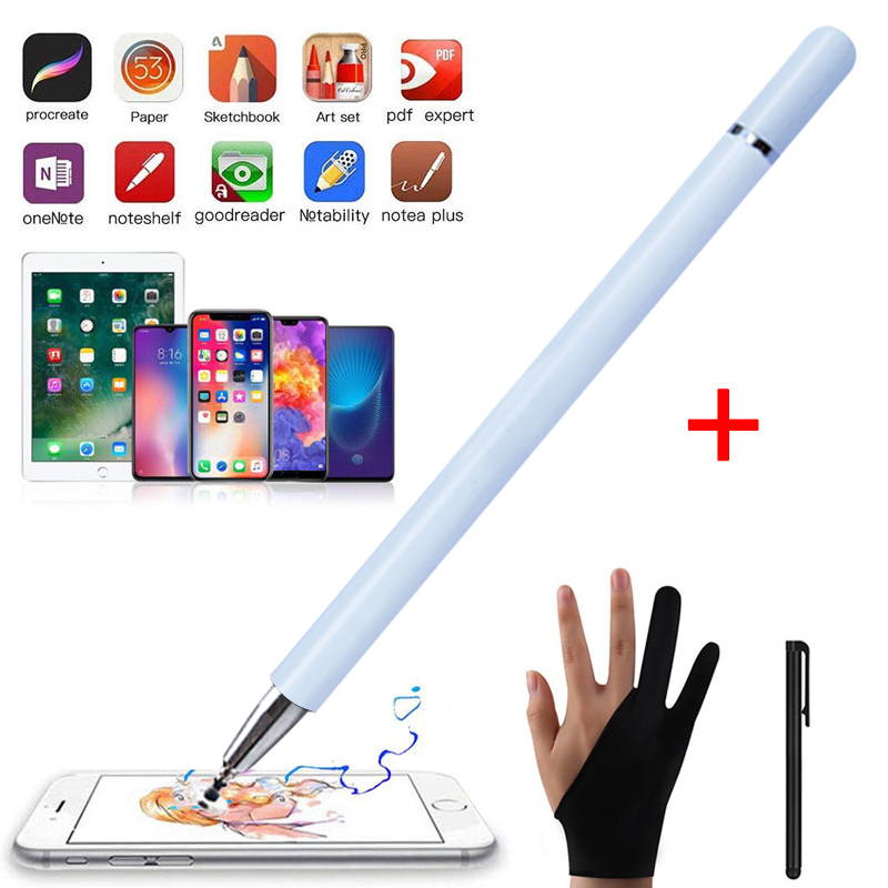 Capacitive Touch Screen Stylus Pen For IPad Pencil Stylus For Drawing Touch Pen For Apple IPad Pro 11 12.9 10.5 9.7 Smart Phohe