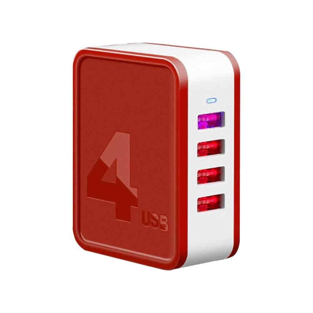 ポータブル 48 ワット 2/4 usb ポート急速充電 QC4.0 3.0 折りたたみ壁の充電器アダプタ