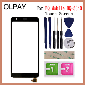 Image 1 - 5.34 inch Touch Screen For BQ Mobile BQ 5340 BQ 5340 Touch Screen Digitizer Panel Front Glass Lens Sensor Repair And Tools