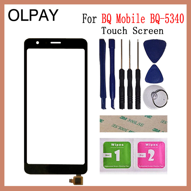 5.34 inch Touch Screen For BQ Mobile BQ 5340 BQ 5340 Touch Screen Digitizer Panel Front Glass Lens Sensor Repair And Tools